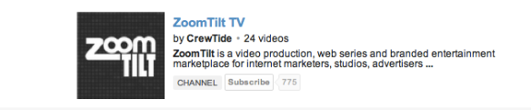 ZoomTilt TV on YouTube