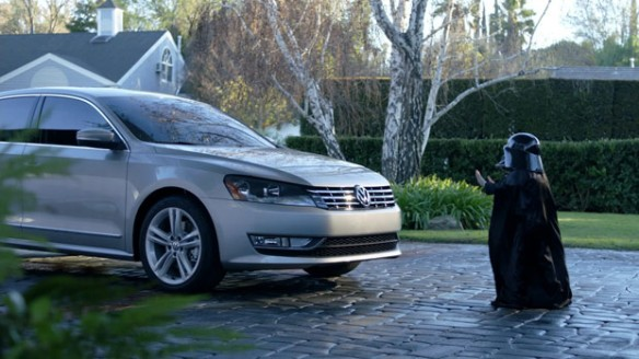 Volkswagen Star Wars Super Bowl Advertisement